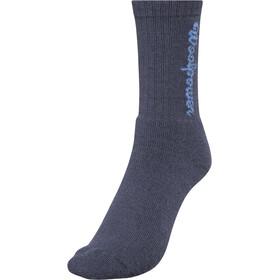Woolpower 400 Logo Socks, blauw